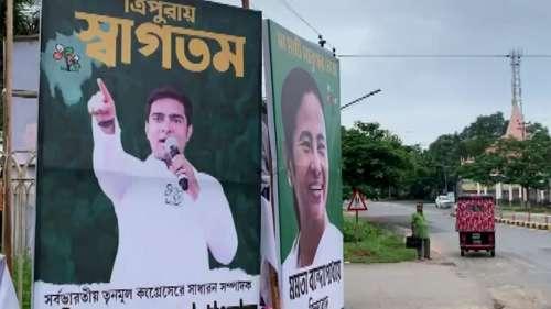 अगरतला में Abhishek Banerjee के काफिले पर हमला, पोस्ट-बैनर भी फाड़े गए