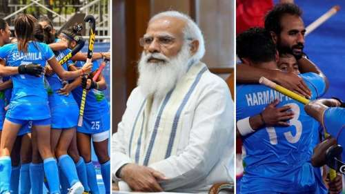 Tokyo Olympics 2020: PM Modi congratulates Indian Hockey Teams as they march into semis