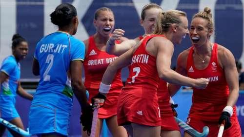 Tokyo 2020 Olympics: Great Britain thrash India 4-1 in Women's hockey