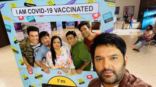 The Kapil Sharma Show: टीम ने करवाया वैक्सीनेशन, जल्द ऑनएयर होने जा रहा है शो