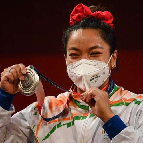 Mirabai Chanu opens India's medal account, clinches silver in 49kg Weightlifting event