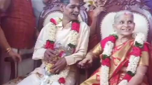 65 की लक्ष्मी को 67 के मेनन से हुआ प्यार... और हो गई शादी