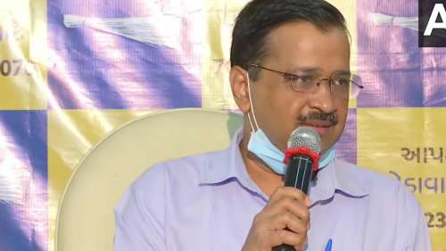 Kejriwal AAPs the Gujarat game after civic polls success