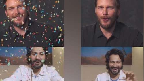 Varun Dhawan celebrates Chris Pratt's birthday virtually, Hollywood star says 'shukriya'