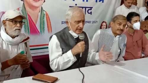 UP 2022: Will Priyanka Gandhi be CM face? This is what Salman Khurshid said