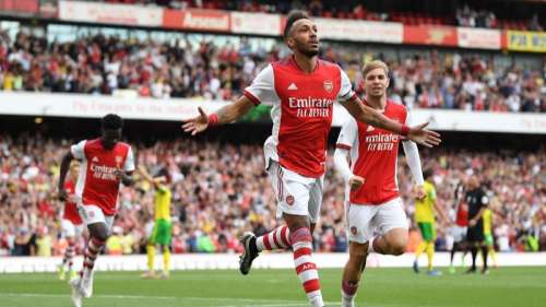 EPL: Arsenal finally open their account, beat Norwich City for first win of the season