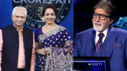 'Sholay' reunion on KBC 13's 'Shandaar Sukhravaar': Hema Malini & Ramesh Sippy join Big B