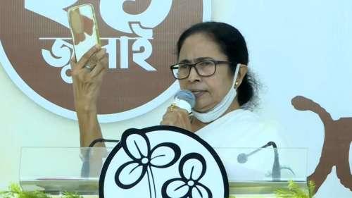 'Spy-giri chal raha hai': Mamata hits out at Centre over Pegasus spyware report