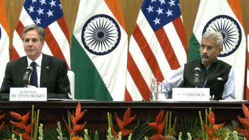 अमेरिकी विदेश मंत्री Blinken ने कहा- स्वतंत्रता और समानता हमारा मूल, अफगानिस्तान में भारत जारी रखेगा काम