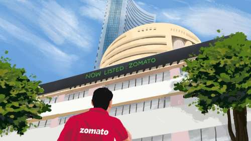 Zomato Listing what a Day 1! Debut into Top 100, Rs 1 lakh crore marketcap
