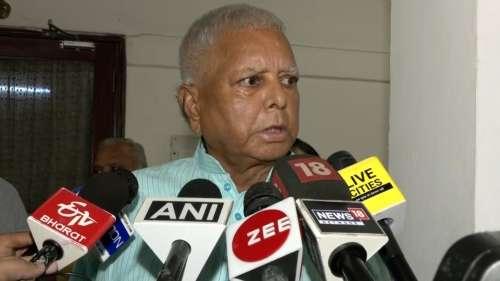 Bihar: Lalu Prasad favours son Tejashwi joining hands with Chirag Paswan