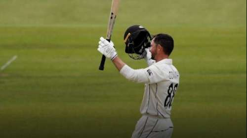 अपने डेब्यू मैच में न्यूजीलैंड के खिलाड़ी ने रचा इतिहास, तोड़ा गांगुली का 25 साल पुराना रिकॉर्ड