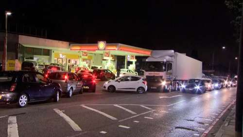 UK out of gas