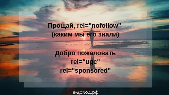 rel nofollow ugc sponsored атрибут google