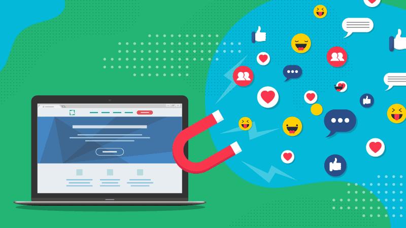 социальный трафик Оптимизация сайта под социальные сети Social Media Optimization SMO
