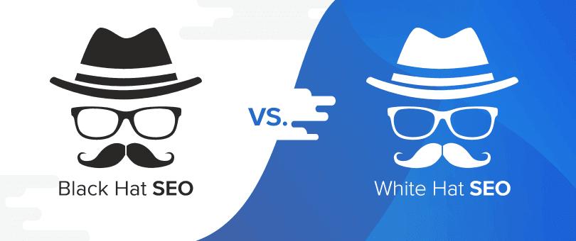 black white hat seo черные белые методы продвижения сайта