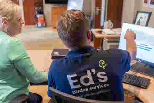 Eds Garden Services Training and Support
