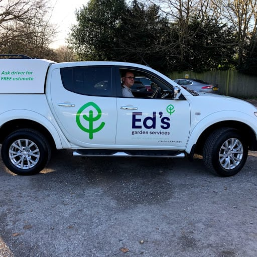 Ed's gardening business Ramsgate van