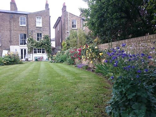 Garden Lawn Mowing Services in South East London