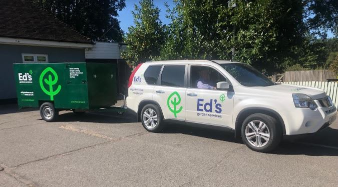 David Ross Ed's vehicle branded