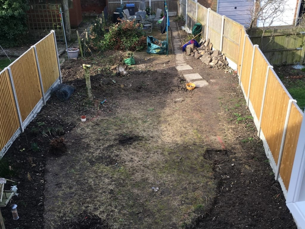 Garden Redesign Folkestone During Photo