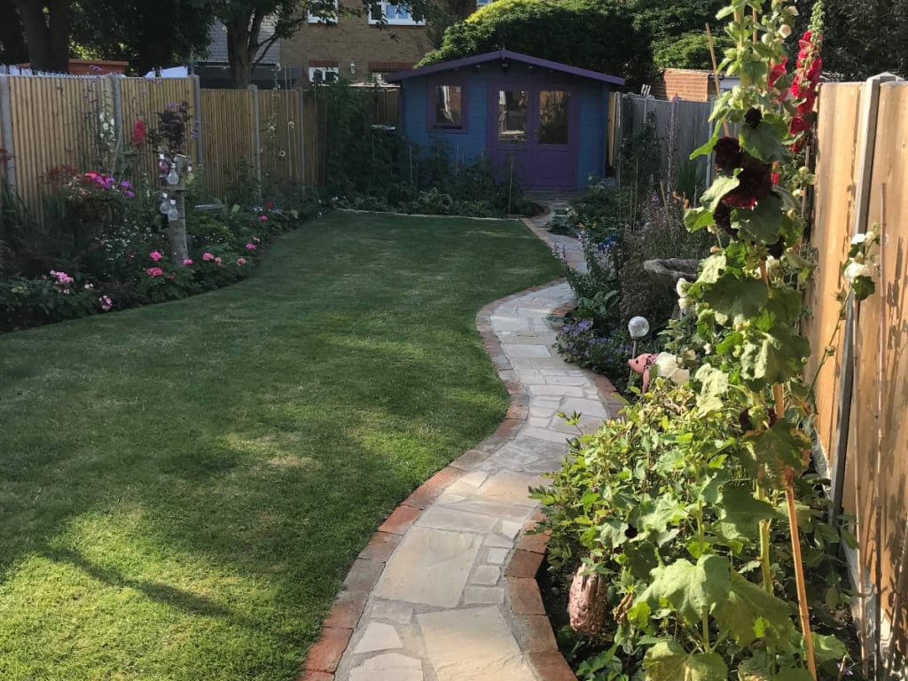 Garden Redesign Folkestone After Photo