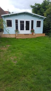New lawn after re-seeding by our Gardening expert Kevin Gallacher