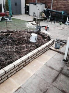 Extending a Garden Wall with Ed's Garden Maintenance
