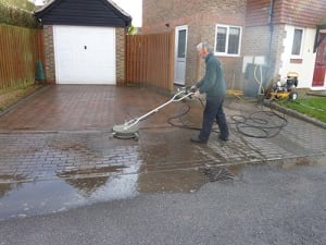 Jet Washing in Rustington with Ed's Garden Maintenance