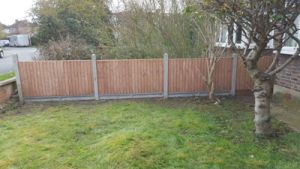 Ed's Garden Maintenance completing a Fencing Job in Raynes Park
