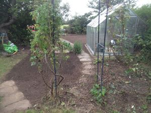 Clearing the Garden Lawn by Ed's Garden Maintenance
