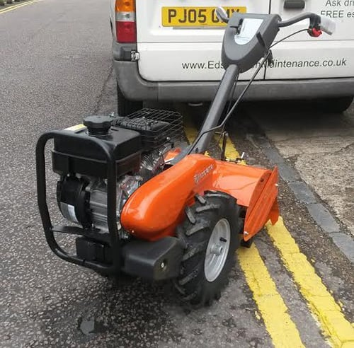 Ed's Garden Maintenance New Turfing Machine