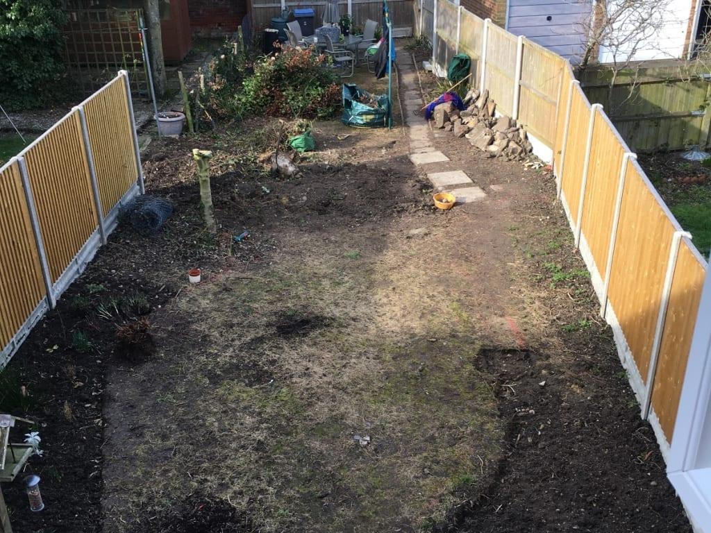 Garden Redesign Folkestone During Photo