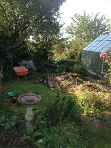Preparing a garden for our Tidy Up from Ed's Garden Maintenance