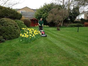 Ed's Garden Maintenance Gardening Service includes Mowing Lawns