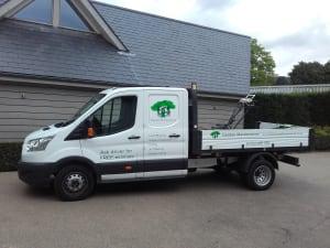 Ed's Garden Maintenance Gardening Truck