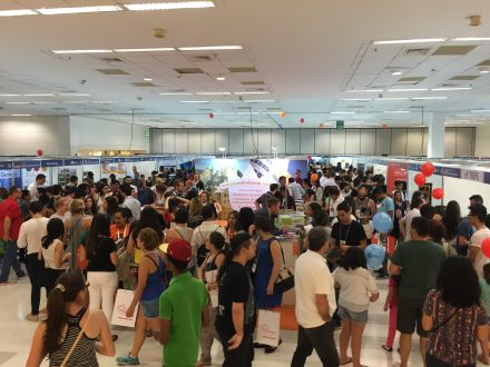 Maior feira de intercâmbio do mundo chega ao Rio