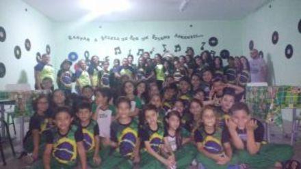 Brasilidade em destaque no Centro Educacional Bom Jesus