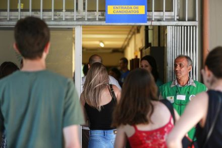 Fim de semana tem abstenção média de 19,6% no Vestibular da UFSC