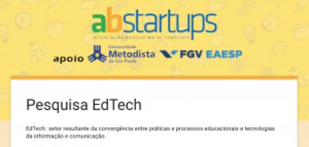 Estudo sobre as Startups de EdTech (Educação e Tecnologia)