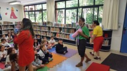 Semana Mauricio de Sousa na Biblioteca
