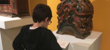 Projeto leva estudantes da rede pública para aprender em museus
