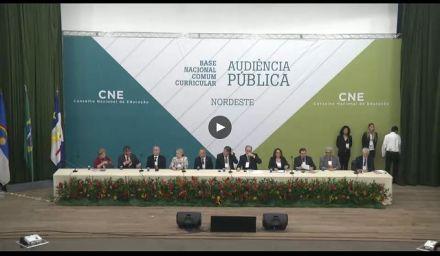 CNE realiza 2ª audiência pública sobre a Base Nacional Comum Curricular