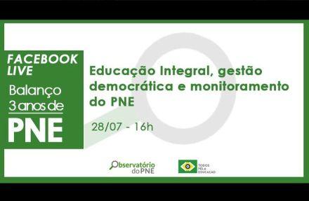 Observatório do PNE faz balanço das metas sobre Educação Integral e Gestão Democrática