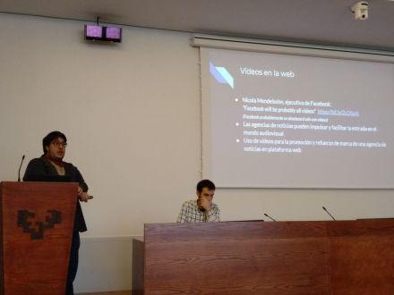 Congreso de Ciberperiodismo estudia el modelo de EFE para videos digitales