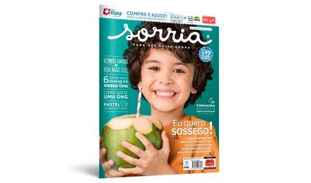 Nova edição da Revista Sorria já está disponível; valor das vendas é revertido ao Instituto Ayrton Senna e GRAACC
