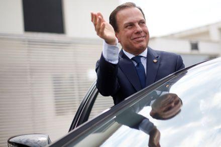 Doria se reúne com governadores às vésperas de encontro em Brasília