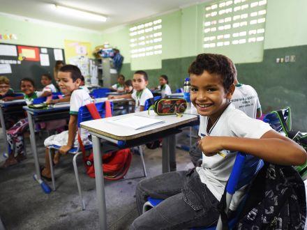 Cresce número de alunos do fundamental que sabem português e matemática