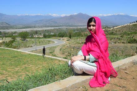 No Brasil pela primeira vez, Malala diz que anunciará projetos no país