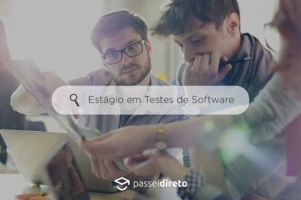 #Estágio – Testes de Software